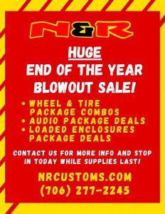 N&R Blowout Sale