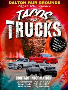 Tacos & Trucks Poster